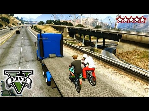 5 - GTA 5 BMX Stunts and Jumps! - FreeRoaming With The CREW! - Grand Theft Auto 5 Tanks and Helicopter ▻Subscribe! http://www.youtube.com/subscription_center?add_user=HikePlays ▻Main Channel:...