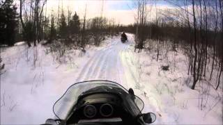 8. First Snowmobile Ride of The 2016 Season
