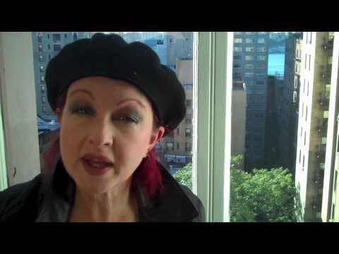 We Give A Damn - A Message From Cyndi Lauper