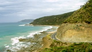 Great Ocean Road - Lorne Australia  city pictures gallery : Great Ocean Road Melbourne Victoria Australia Scenery Tour Bus Drive