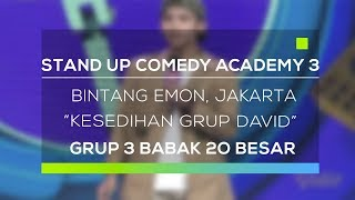 Video Stand Up Comedy Academy 3 : Bintang Emon, Jakarta - Kesedihan Grup David MP3, 3GP, MP4, WEBM, AVI, FLV November 2017