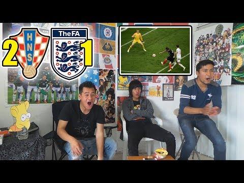 Croacia 2 vs Inglaterra 1   Semifinal Mundial 2018   Reacciones de amigos
