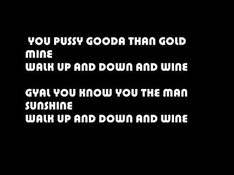 Konshens - Walk And Wine Lyrics @DancehallLyrics