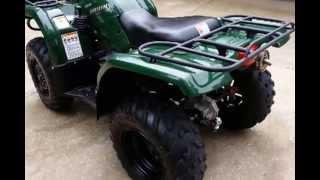 9. 2004 Yamaha Bruin 350 4x4