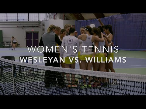 2016 Wesleyan vs Williams Women's Tennis Highlights