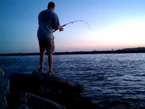 Bull Red caught on St. George Island, FL – July 2010