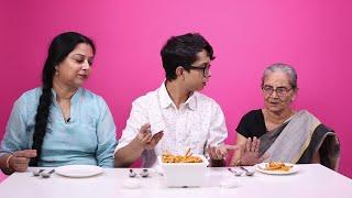 Video Three Generations Taste Test Their Favourite Dishes MP3, 3GP, MP4, WEBM, AVI, FLV Oktober 2018