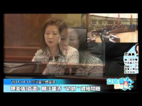 陳美儀20140414立法會議
