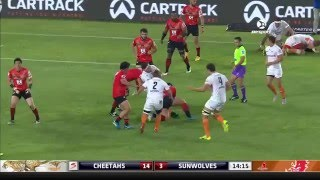 Cheetahs v Sunwolves Rd.8 2016 | Super Rugby Video HIghlights