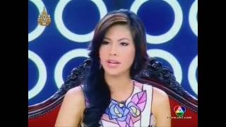 Miss Thailand Fah Chanyasorn In Variety Talk Show Part 1
