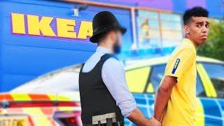 FAKE EMPLOYEE PRANK In IKEA