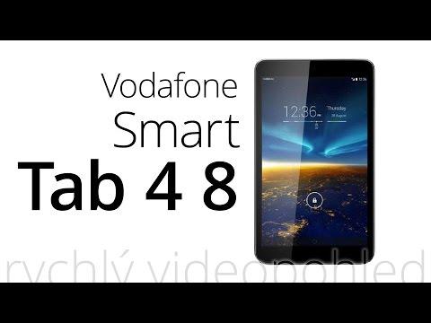 Vodafone Smart Tab 4 8 (rychlý videopohled)