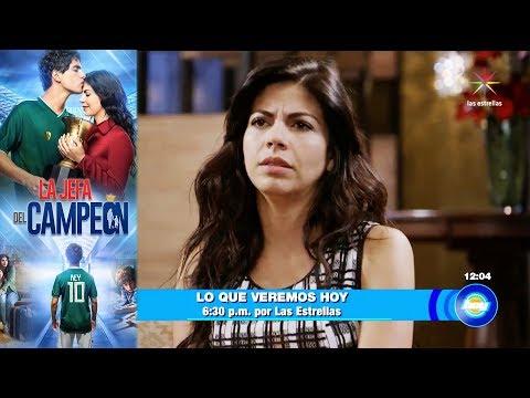 Historias de amor - La Jefa del Campeón  Avance 16 de agosto  Hoy - Televisa