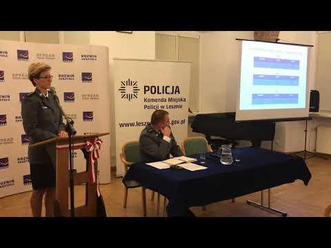 Wideo1: Debata o bezpieczeństwie ruchu drogowego w Lesznie