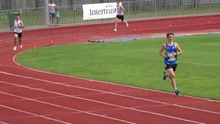 Local 1500m race, July 2017.