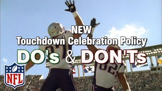 What TD Celebrations are Now Allowed Under the New Policy? | NFL by NFL