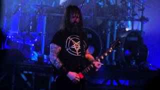 SLAYER - Altar Of Sacrifice + Jesus Saves (11/25/2014 Albany, NY)