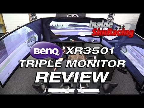 BenQ XR3501 Ultra Wide Triple Gaming Monitor Review