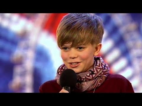 got - Britain's Got Talent: 12-year-old Ronan is nervous about performing to the judges - but not as nervous as his mum! Armed with a good set of lungs and a day o...