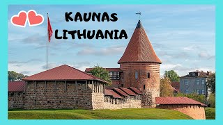 Kaunas Lithuania  city photo : A walking tour of the beautiful city of Kaunas, Lithuania