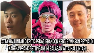 Video Atta Halilintar Dikritik Pedas Brandon Kent & Winson Reynaldi karena Prank Settingan! Jawaban Atta? MP3, 3GP, MP4, WEBM, AVI, FLV April 2019