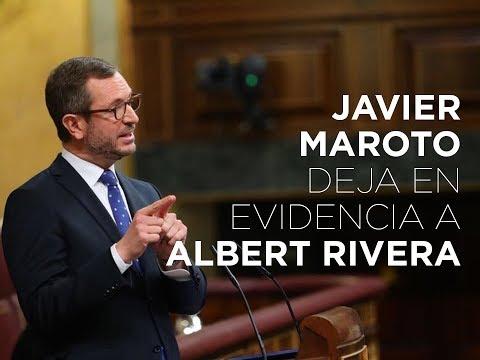 Javier Maroto deja en evidencia a Albert Rivera