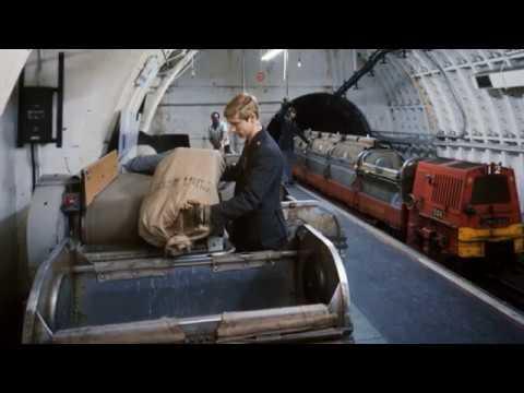 Abandoned underground postal railway opened to the public