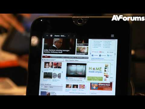 CES 2012 – Toshiba Tablets unveiled at CES