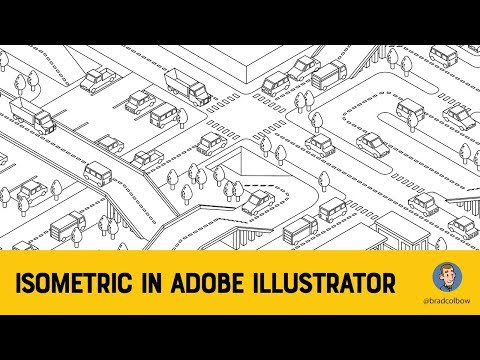 Isometric Speed Draw In Adobe Illustrator  (7 Hours Condensed To 5 Minutes)