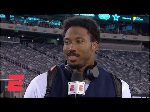 Video: Myles Garrett reacts to the Browns' Week 2 win vs. the Jets | NFL on ESPN