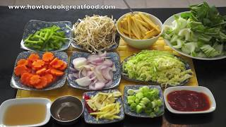 Asian Style Stir Fry Vegrtables With Sweet Chilli Recipe How To Cook Great Food