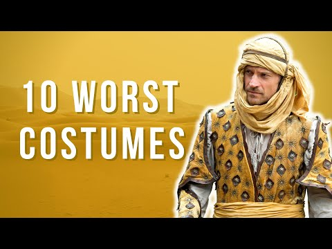Top 10 WORST Game of Thrones Costumes - S1-7