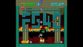 PC Engine Longplay [293] Parasol Stars - The Story of Bubble Bobble III