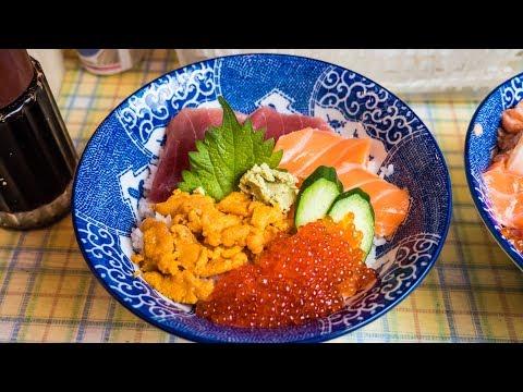 Street Food in Japan - Tour of Ameya-Yokocho Market  Budget Japanese Food and Spicy Kebab!