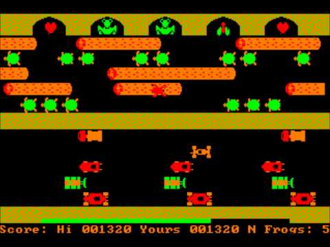 Frogger for the PC Booter