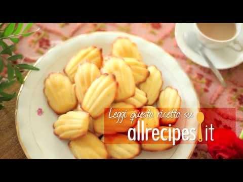 madeleine - ricetta