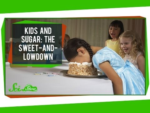 LIES!!  Or... just myth.  Either way, load up the kids on sugar!