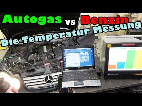 Autogas verbrennt heisser! Oder auch nicht! Die Messu ...