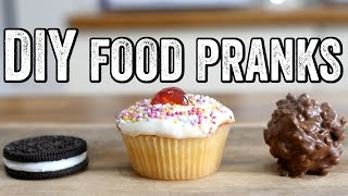 DIY FOOD PRANKS by  My Virgin Kitchen