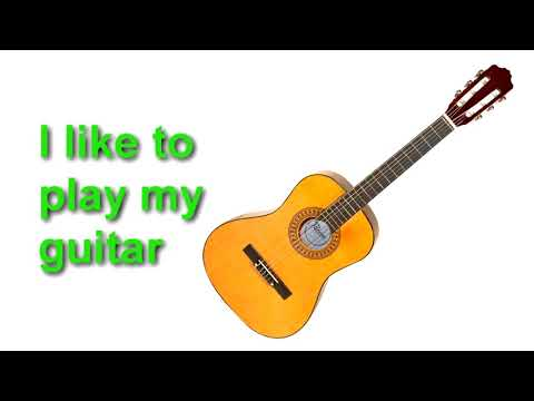 English Words – Musical Instruments and Sounds