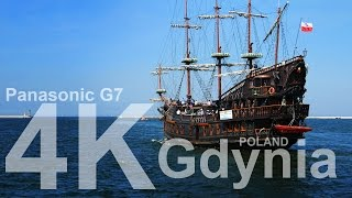 Gdynia Poland  city images : Gdynia Poland sailing ships - Panasonic G7 4K sample