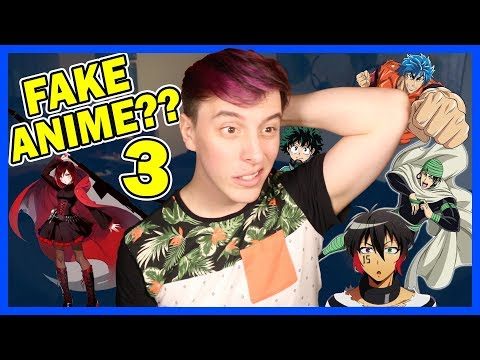 Real or FAKE ANIME?? Pt. 3! | Thomas Sanders