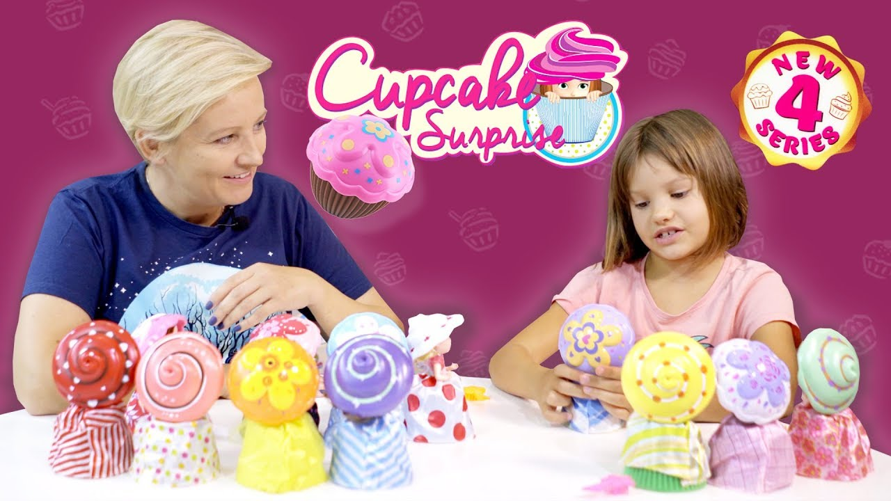 Nowe CupCake Surprise Seria 4, TM Toys