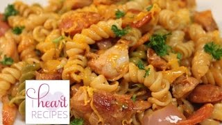 Dinner For Two : Chicken And Sausage Pasta - I Heart Recipes
