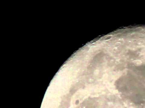 T2i Movie Crop Mode W/Sigma 50-500 Full Moon Crossing Frame