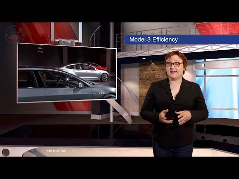Model 3 Efficiency, Solid State Batteries, LEAF Spyshots,  -- TEN Future Car News 28/7/2017