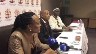 Public Protector confirms that the State Capture report is being taken on judicial review. Adv. Mkhwebane says her office will wait for the court decision on the ...