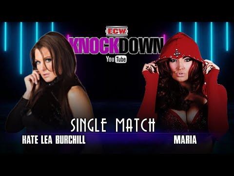 SINGLE MATCH: Maria vs  Kate Lea Burchill | ECW KnockDown Jan. 13, 2020