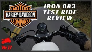 3. 2018 Harley Iron 883 Test Ride and Review