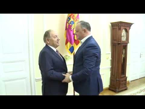 Президент Игорь Додон встретился с Чрезвычайным и Полномочным Послом Республики Турция в Молдове